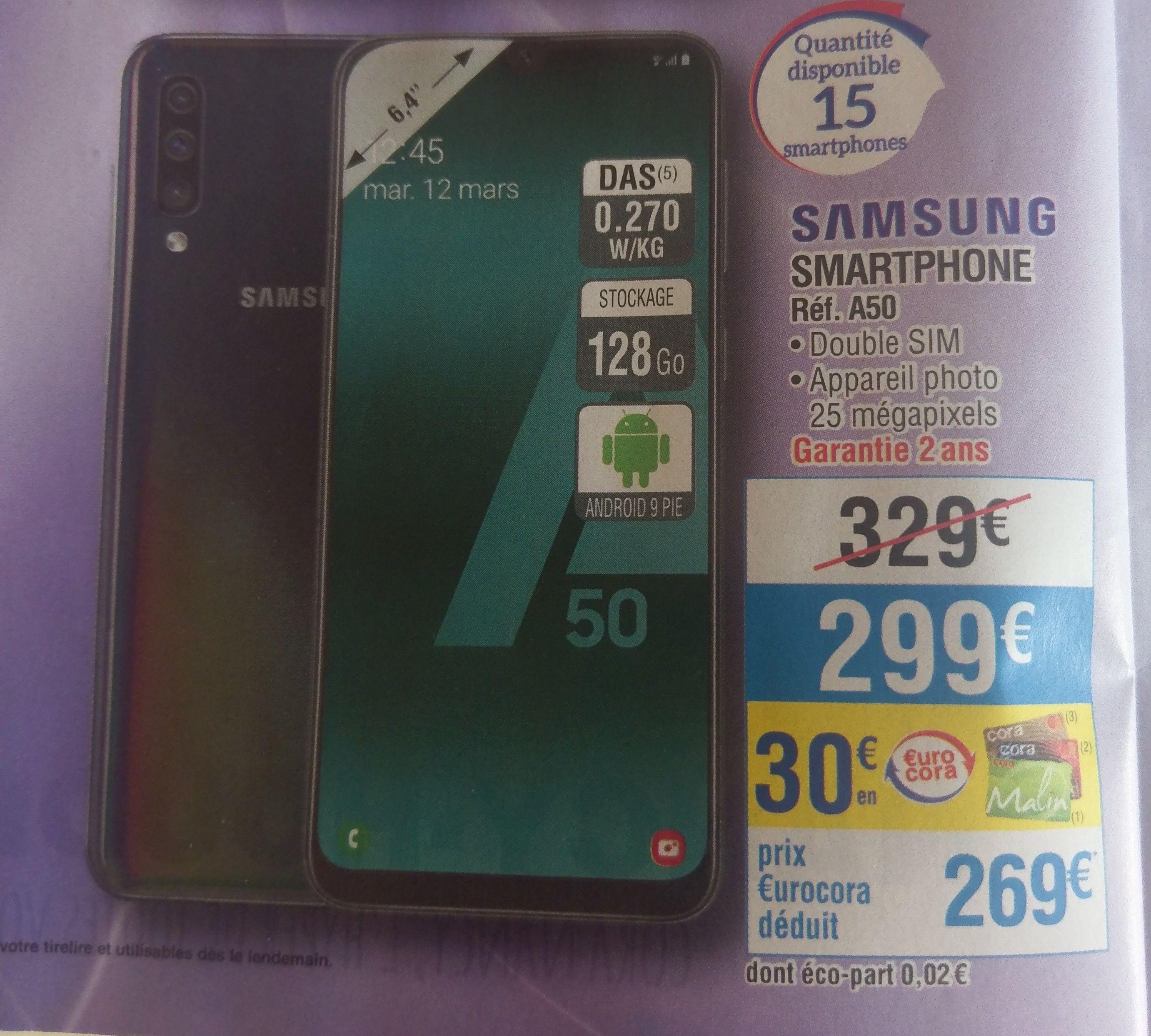Smartphone Samsung Galaxy A50 - 128 Go - Houdemont (54)