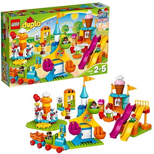 Jeu de Construction Lego Duplo Ma ville - Le parc d'attractions - 10840