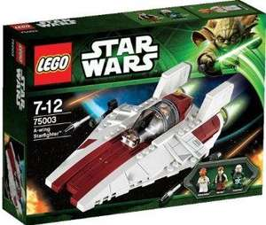 50% de réduction sur une sélection Légo Star Wars - Ex : A-Wing Starfighter