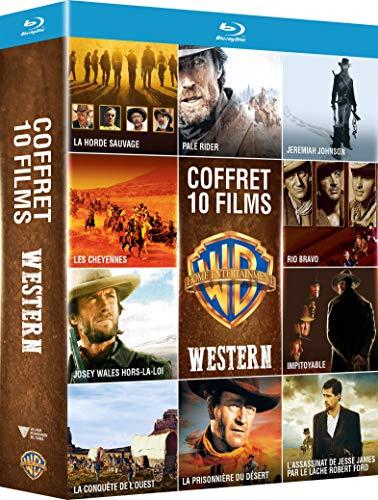 Coffret Blu-Ray: Collection de 10 films de Western