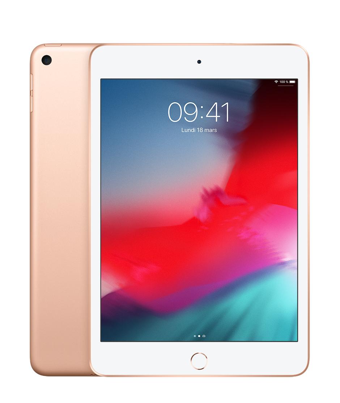 "Tablette tactile 7.9"" Apple iPad mini 5 - full HD, A12, 3 Go de RAM, 64 Go, Wi-Fi, Blanc (+18,3€ en SuperPoints)"