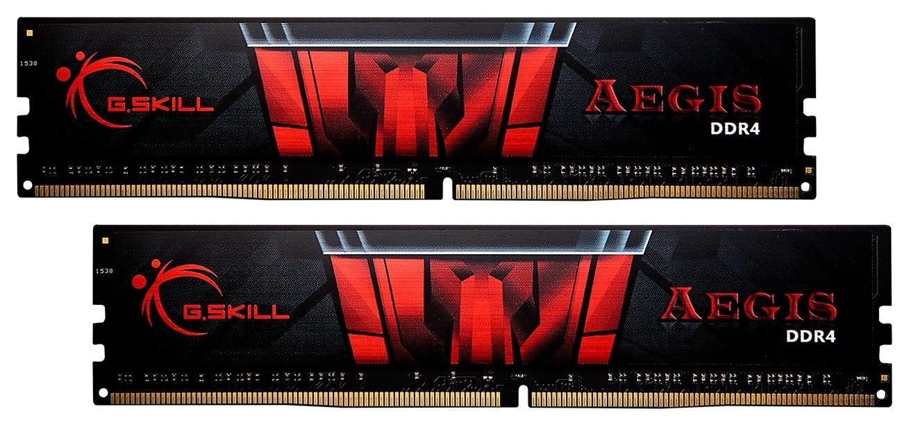 Barette Mémoire G.Skill - 16 Go (2x8Go) DDR4, 3000 Mhz, CL16
