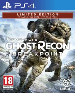 Ghost Recon: Breakpoint - Edition Limitée exclusif Amazon sur PS4/XBox One