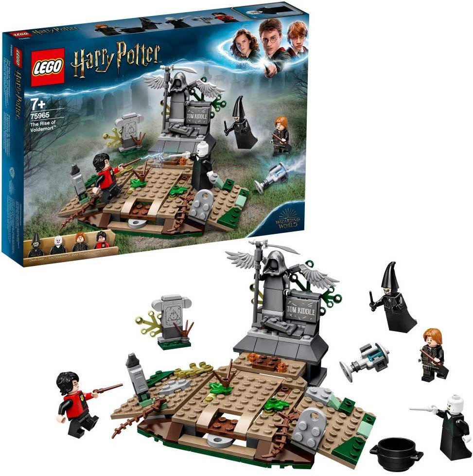 Jeu de construction Lego - La résurrection de Voldemort (75965)