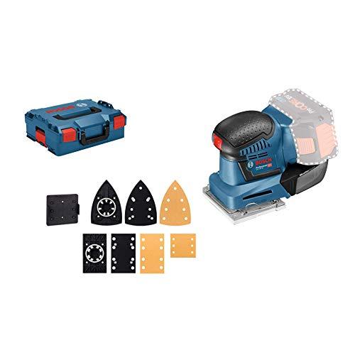 Bosch Ponceuse vibrante sans fil GSS 18 V-10, Solo Version, L-BOXX - 06019D0202
