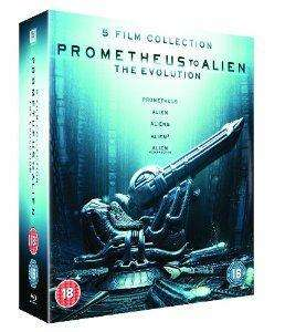 Coffret Blu-ray : De Prometheus à Alien