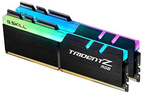 Kit mémoire RAM G.Skill TridentZ RGB - 16 Go (2 x 8 Go) DDR4, 3200Mhz