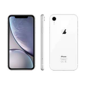 "Smartphone 6.1"" Apple iPhone XR - 128 Go, Blanc (Frontaliers Suisse)"
