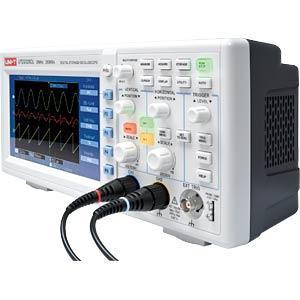 Oscilloscope numérique 2 voies ecran couleur UTD 2025 CL
