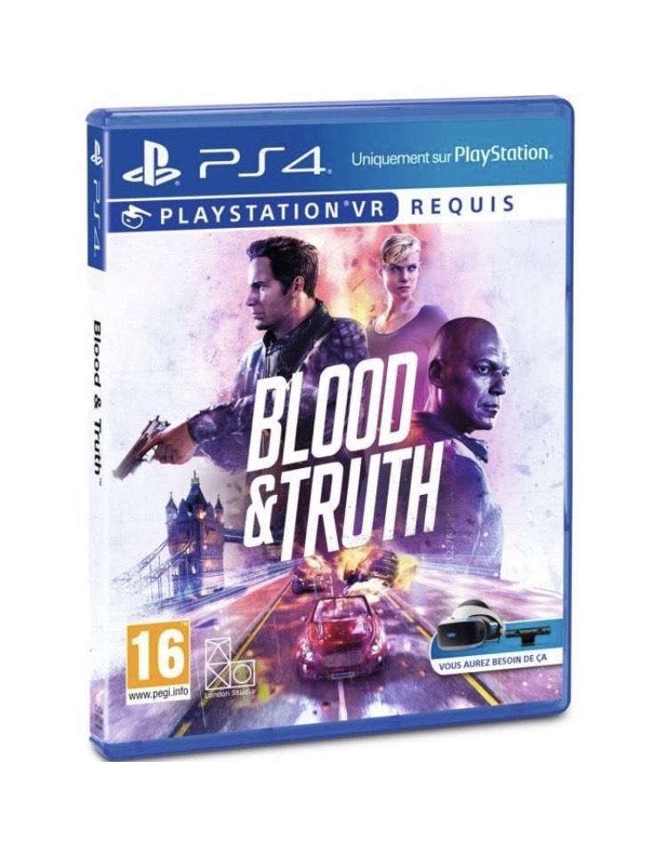Jeu Blood & Truth sur PSVR (vendeur tiers)