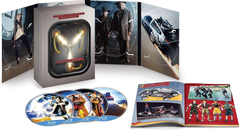 Coffret Blu-ray/DVD/Digital : Retour vers le futur - Trilogie - Edition Collector Flux Capacitor (En Anglais)