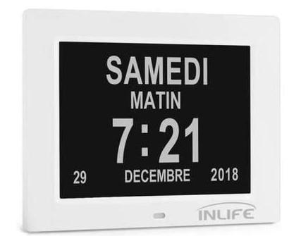 Horloge Calendrier Numérique (vendeur tiers)