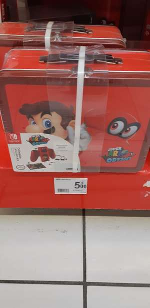 Lunch box Mario Odyssey - Faches-Thumesnil (59)