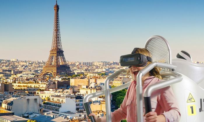 Vol au-dessus de Paris en simulateur de jetpack + 1 photo  - Paris (75)