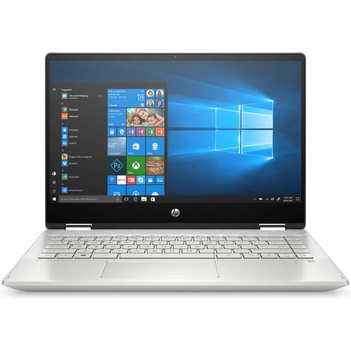 """PC portable 14"""" HP Pavilion X360 - FHD, Intel Core i7-10510U, 16 Go RAM, SSD 512 Go, clavier QWERTZ (Frontaliers Suisse)"""