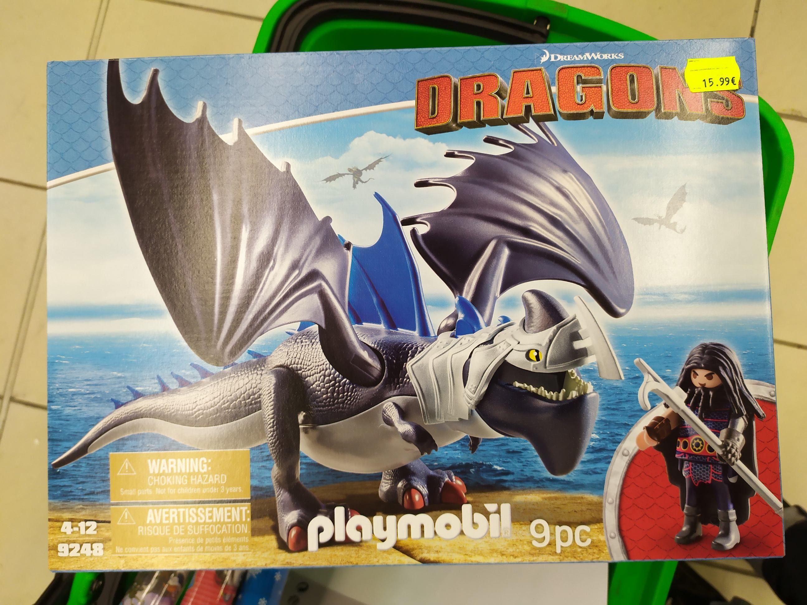 Jouet Playmobil 9248 Dragons - Drago avec dragon de combat - Ardèche (07) / Valence (26)