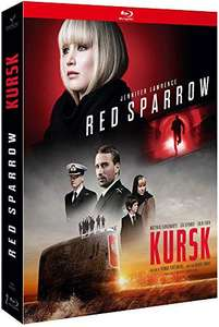 Coffret blu-ray Red Sparrow - Le Moineau Rouge + Kursk