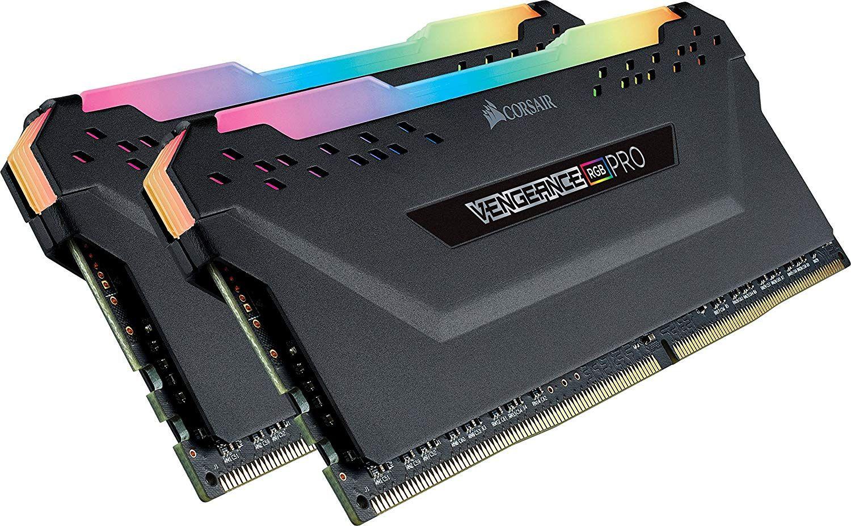 Kit Mémoire RAM Corsair Vengeance RGB Pro 16 Go (2 x 8 Go) - 3000MHz, DDR4, CL15, XMP 2.0