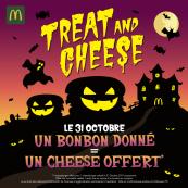 1 bonbon donné = 1 cheese offert pour un cheese acheté - Toulouse (31)