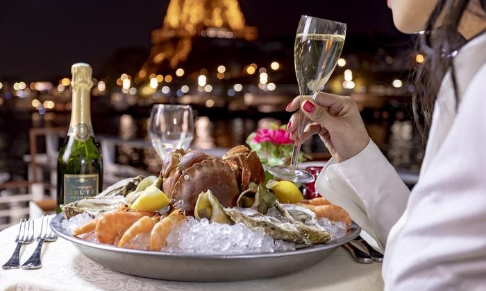 Diner Croisière pour 2 personnes, Formule Amirale sur la Seine - Paris (75)