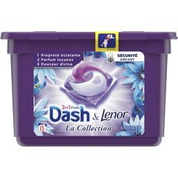 2 Boites de Lessive Pods 3 en 1 Dash