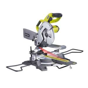 Scie à coupe d'onglet radiale 216mm Ryobi EMS216L
