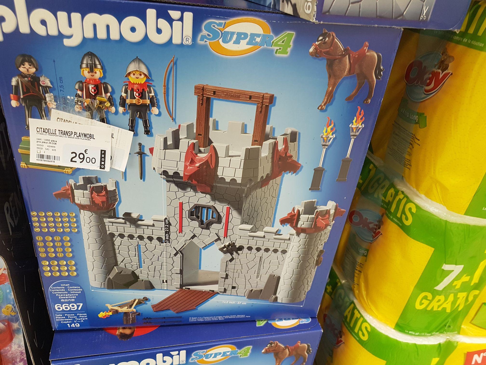 Jouet Playmobil Citadelle Super 4 - Eragny art de vivre (95)