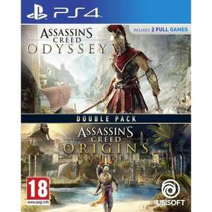 Compilation Assassin's Creed Origins + Assassin's Creed Odyssey sur PS4
