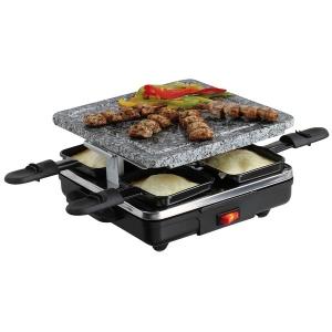 Appareil à raclette et pierrade Livoo - 4 personnes