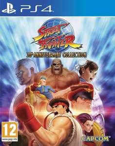 Street Fighter 30th Anniversary Collection sur PS4