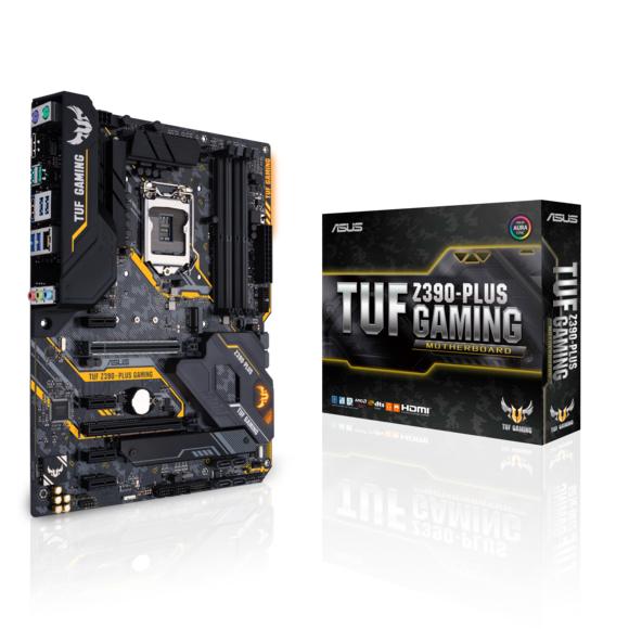 Bundle Carte mère Asus TUF Z390-Plus Gaming + Processeur Intel Core i7-9700KF (Via ODR 80€)