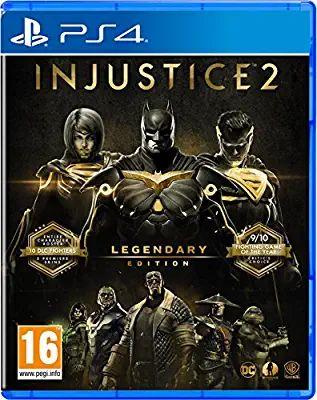 Injustice 2 : Legendary Edition sur PS4