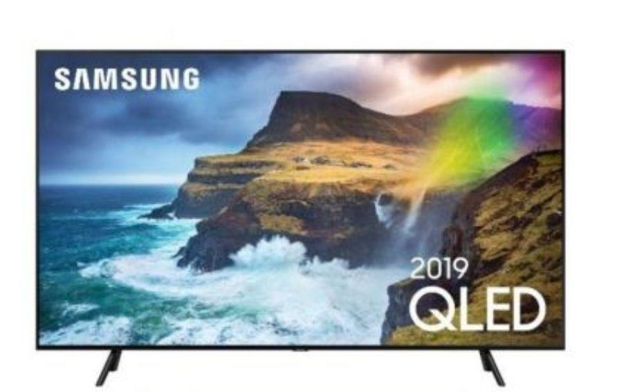 "TV QLED 55"" Samsung QE55Q70R - 4K UHD, Full LED, HDR 1000, 100 Hz, Smart TV (Via ODR de 300€)"
