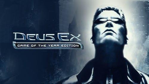 Sélection de jeux vidéo Deus Ex sur PC en promotion (dématérialisés) - Ex : Deus Ex - Édition Game of the Year