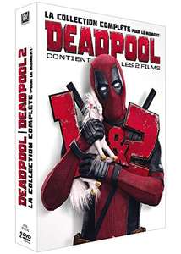 Coffret DVD Deadpool 1 & 2