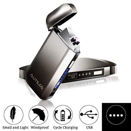 Briquet électronique double arcs Autsca - rechargeable USB (Vendeur tiers)