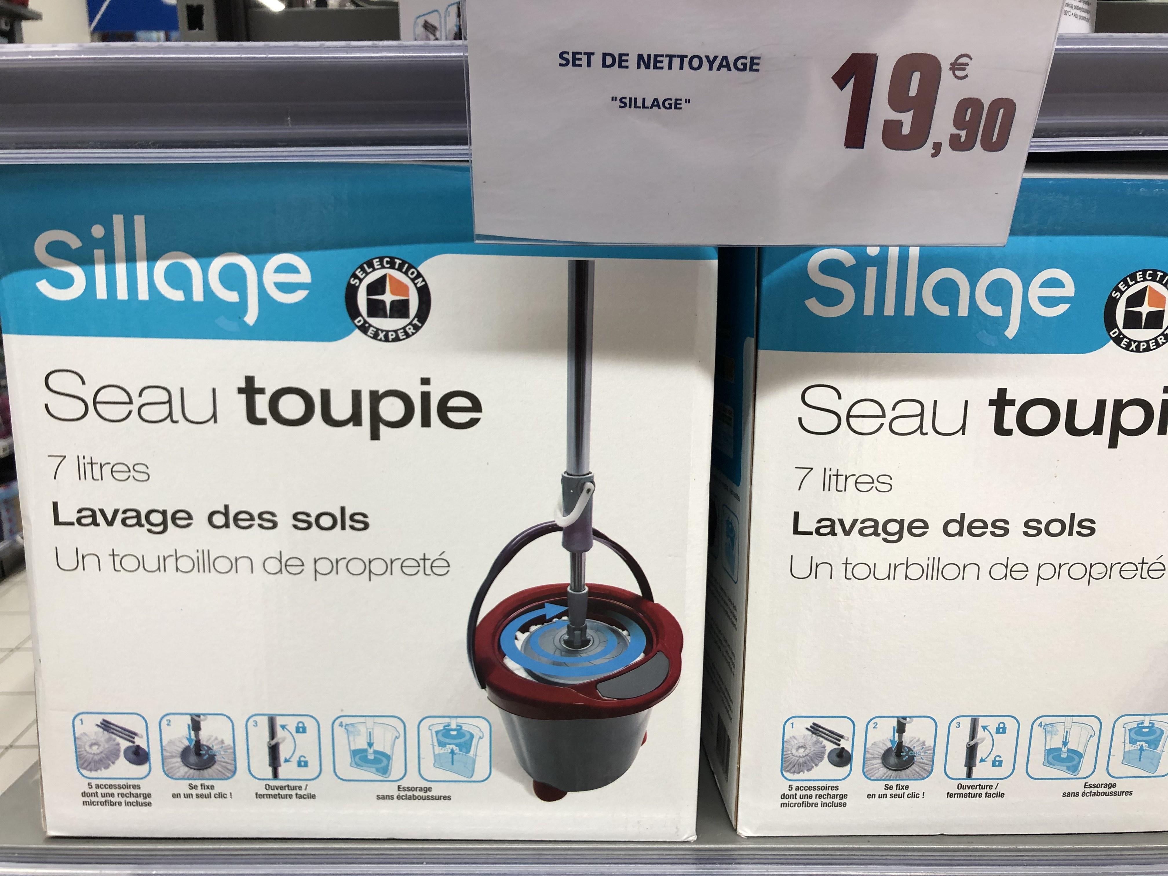 Set de nettoyage seau toupie Sillage - Nîmes (30)