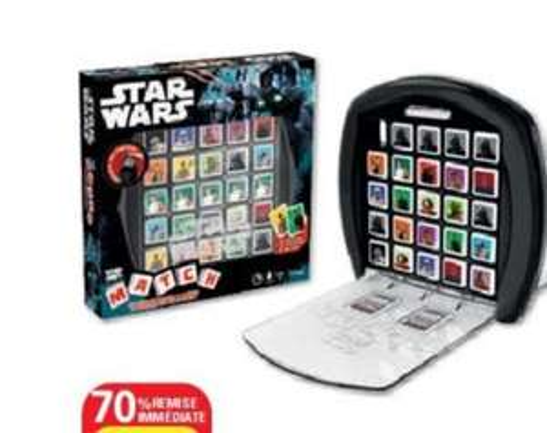Jeu match Star Wars
