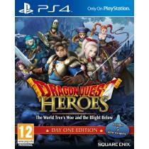 Dragon Quest Heroes : Le Crépuscule de l'Arbre du Monde Day One sur PS4