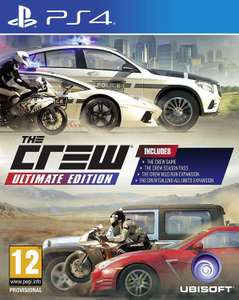 The Crew Ultimate Edition sur PS4 ou Xbox One