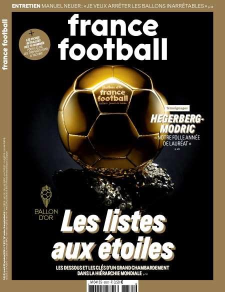 Abonnement au magazine France Football - 26 numéros