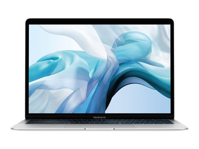 """PC portable 13.3"""" Apple MacBook Air 2018 - Retina, i5, 8 Go de RAM, 128 Go en SSD, argent, QWERTY (+ 192€ en SuperPoints)"""