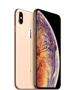 """Smartphone 5.8"""" Apple iPhone XS (Or) - Full HD+, A12, 4 Go RAM, 64Go ROM (+154€ en super points)"""