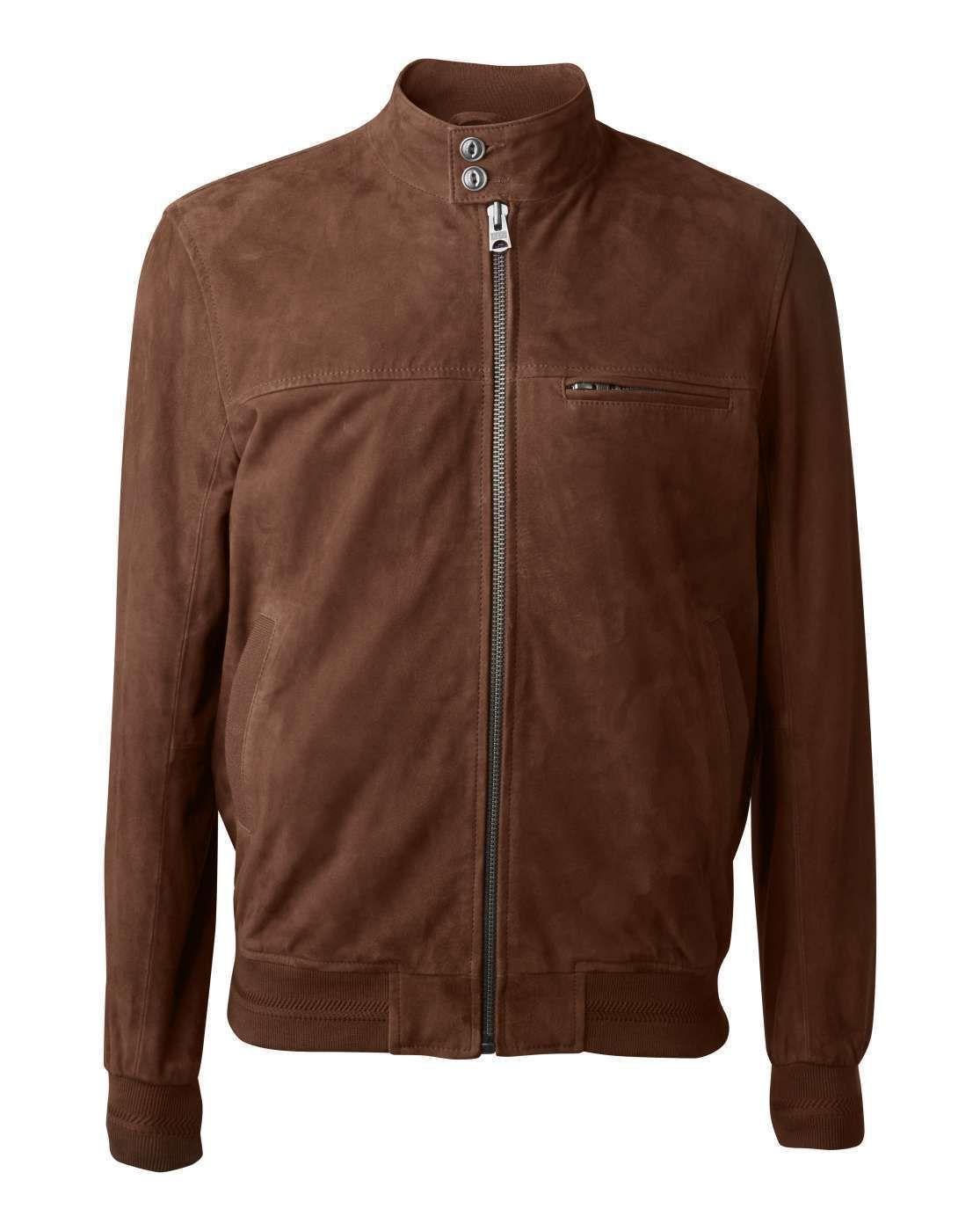 Sélection de vestes et blousons en cuir Chevignon en promotion - Ex: Blouson col montant cuir Members (Du s au XL)
