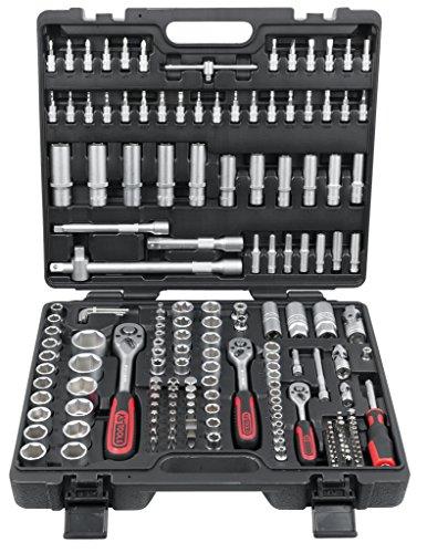 Coffret de douille 1/4 3/8 1/2 KS Tools - 179 pièces