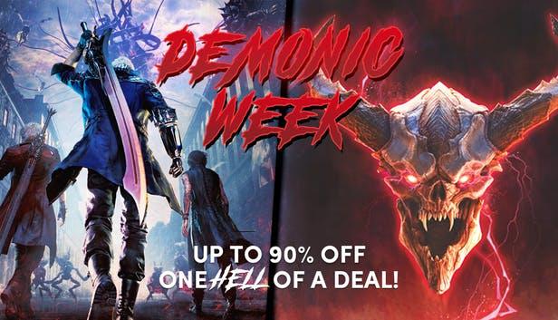 [Demonic Week] Sélection de jeux vidéo sur PC en promotion (dématérialisés)