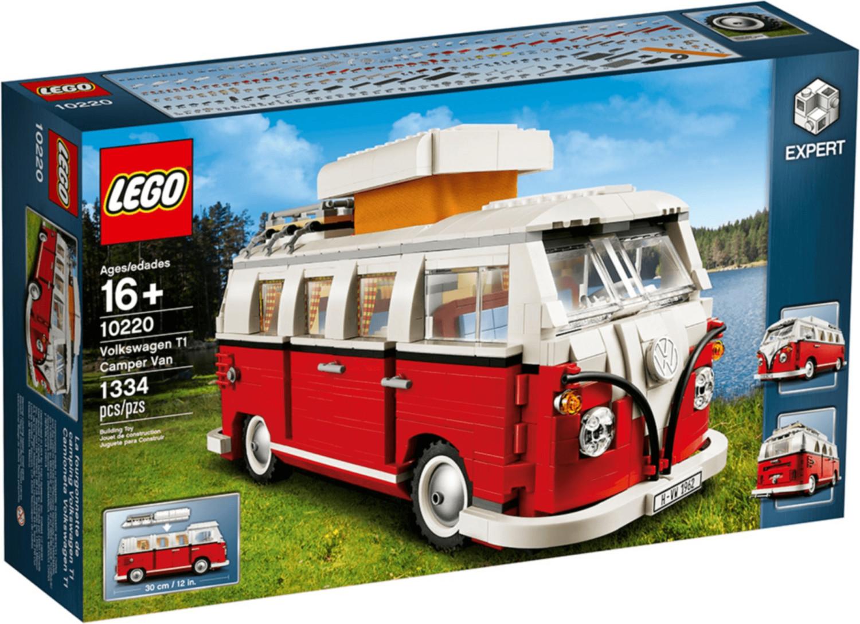 Jouet Lego Creator - Le camping-car Volkswagen T1 (10220)