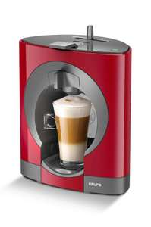Machine à café Dolce Gusto Oblo rouge offerte pour l'achat de 12 boîtes de capsules