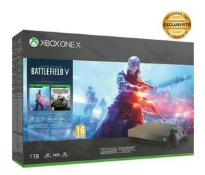 Pack Console Xbox One X + Battlefield V Gold Rush + Red Dead Redemption 2