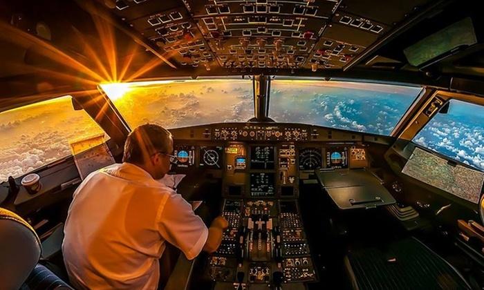 Simulation de pilotage d'avion de 2h au centre Smart'XPR - Ex : 1 personne